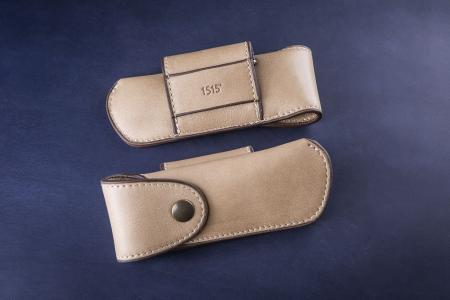Belt holsters Beige Calfskin Belt Holster