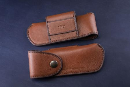 Belt holsters Cognac Calfskin Belt Holster