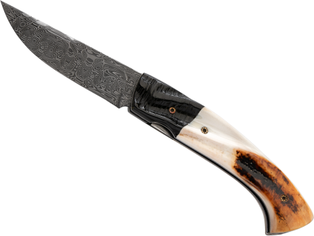 Africa Impala - Warthog folding knife